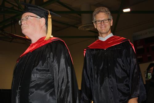 Ohio State Lima faculty during the Dean's Convocation