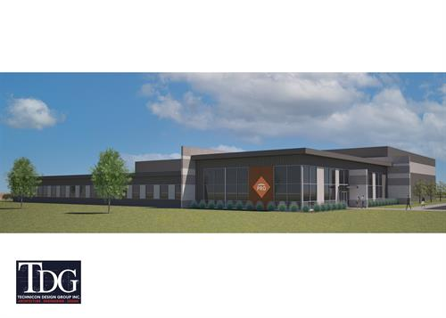 Corporate Project Rendering, Lima Ohio