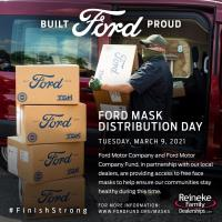 Reineke Family Dealerships and The Ford Motor Company Fund Partner for Ohio PPE Day