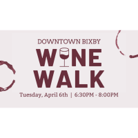 2021 Downtown Bixby Wine Walk