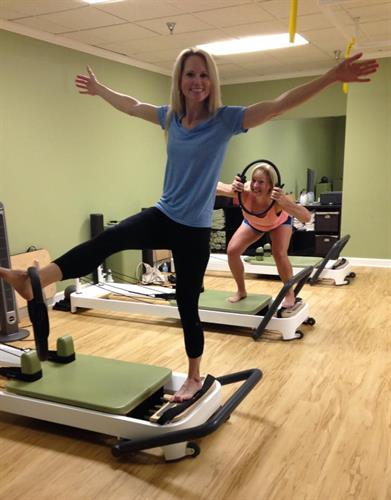 Did you know pilates improves balance?