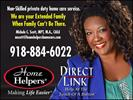 Home Helpers and Direct Link