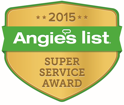 Angies List Super Service award winner 10 years running