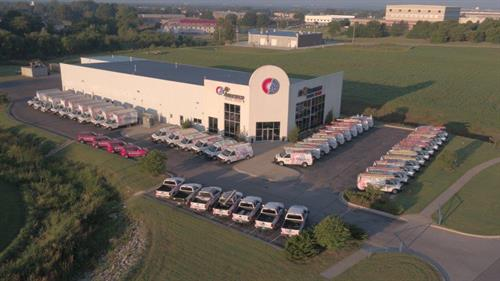 Largest service fleet in Tulsa Metro with the small company feel