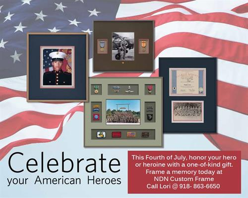 Proudly display awards and certificates in a shadow box frame