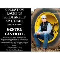 Operation Round Up Winner Gentry Cantrell