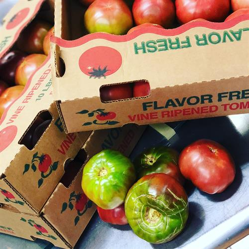 Heirloom Tomatoes from Whiskey Ridge Farms