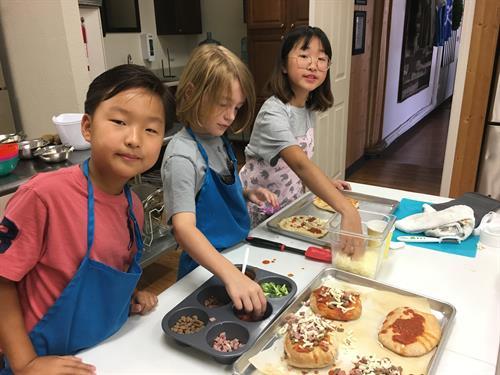 Kids Cooking Camp 2018
