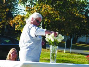 Pat Harrington at the Warriors of Hope Walk of Remembrance