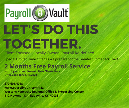 Special Offer for 2 Months Free Payroll!