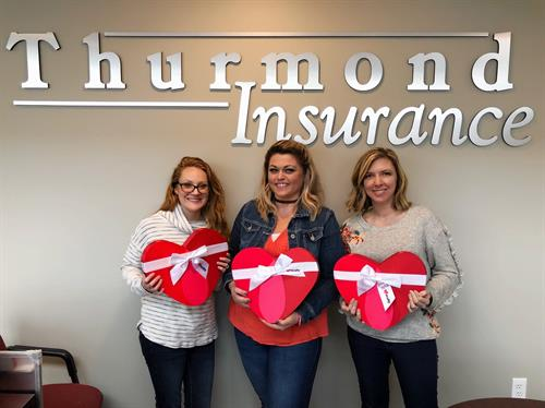 The ladies of Thurmond Insurance