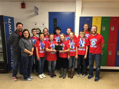 6th grade Academic Team Showcase Champions again!