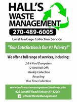 Hall's Waste Management