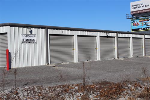 Hwy 80 Storage units-454 Grant Rd