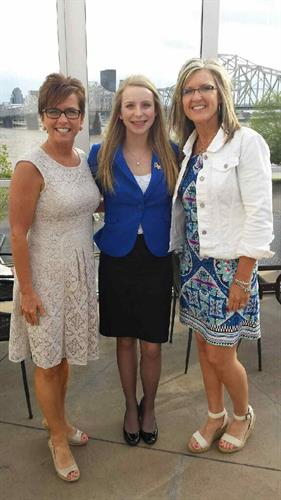 FBLA Advisors with our 2014-2015 Chapter President