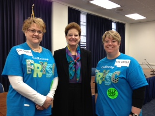 Local ECC Members visiting with Terry Tolan from the Gov. Office of Early Childhood