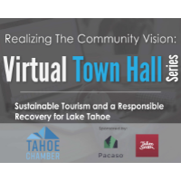 Virtual Town Hall on Sustainable Tourism and a Responsible Recovery for Lake Tahoe