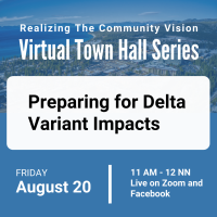 Virtual Town Hall on Preparing for Delta Variant Impacts