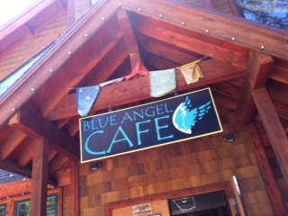 The Blue Angel cafe