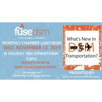 Monthly Luncheon- What's New In DSM Transportation?