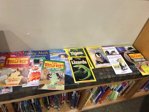 New books for kids to take home & build home library!