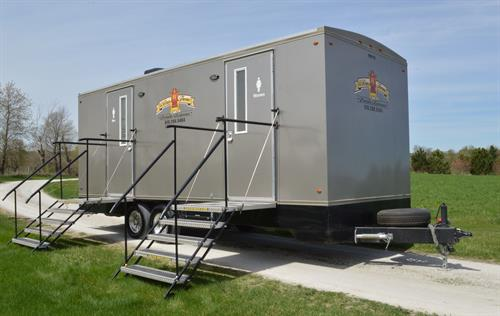 Baron Climate-Controlled Restroom Trailer