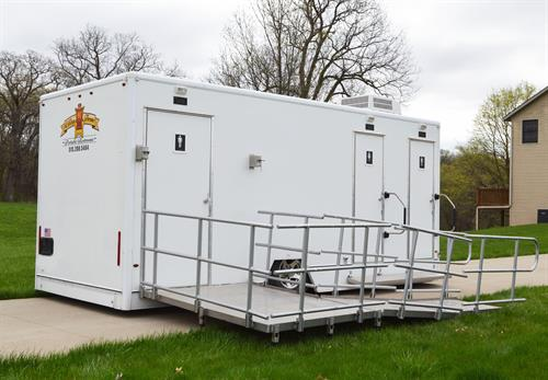 Duchess ADA Compliant Climate-Controlled Restroom Trailer
