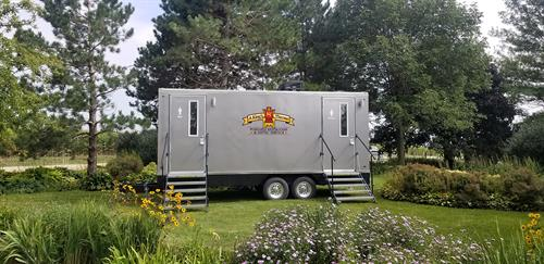 Squire Climate-Controlled Restroom Trailer