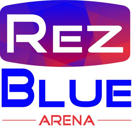 RezBlue Arena square Logo