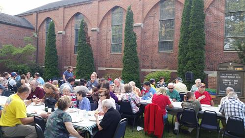 We welcome the Moscow community to our annual fall barbecue.