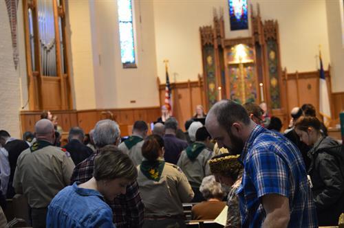 Scout Sunday worship