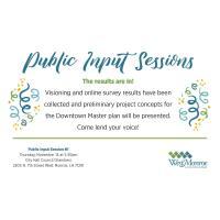 Public Input Session - City of West Monroe
