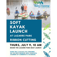 Ribbon Cutting - Soft Kayak Launch at Lazarre Park