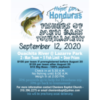 Canceled: Hope for Honduras Fishers of Men - Bass Tournament