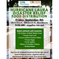 Disaster Relief Food Distribution