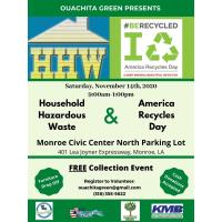 Household Hazardous Waste & America Recycles Day 2020