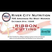 Ribbon Cutting - River City Nutrition