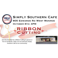Ribbon Cutting - Simply Southern Cafe