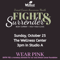 Fight & Surrender - Body Combat & Holy Yoga Class