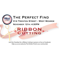 Ribbon Cutting - The Perfect Find