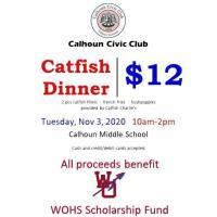 Calhoun Civic Club Catfish Dinner