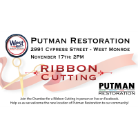 Postponed: Ribbon Cutting - Putman Restoration