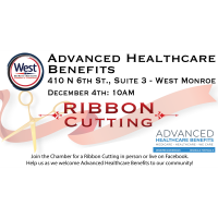 Ribbon Cutting & Open House - Advanced Healthcare Benefits