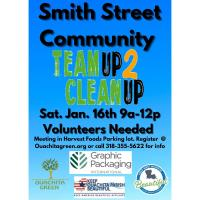 Team Up 2 Clean Up - Smith Street Community
