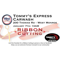 Ribbon Cutting - Tommy's Express Carwash
