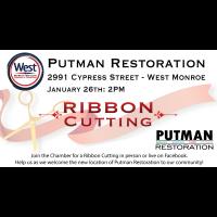 Ribbon Cutting - Putman Restoration
