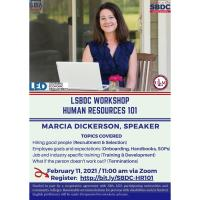 LSBDC Human Resources 101 - Webinar