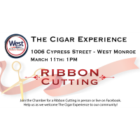 Ribbon Cutting - The Cigar Experience