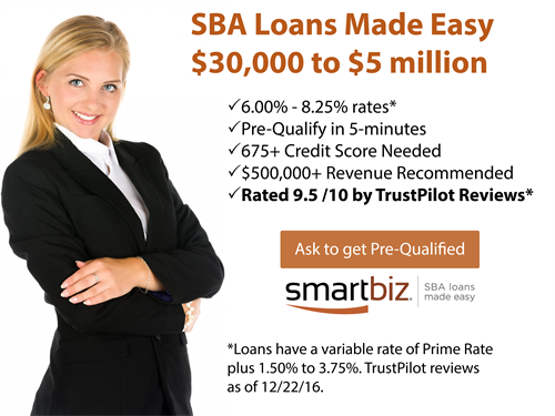 SBA Loans: Get Pre-Qualified for up to $5M