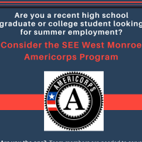 Applications sought for SEE West Monroe Americorps Summer Team